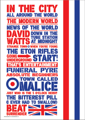 The Jam Music Poster